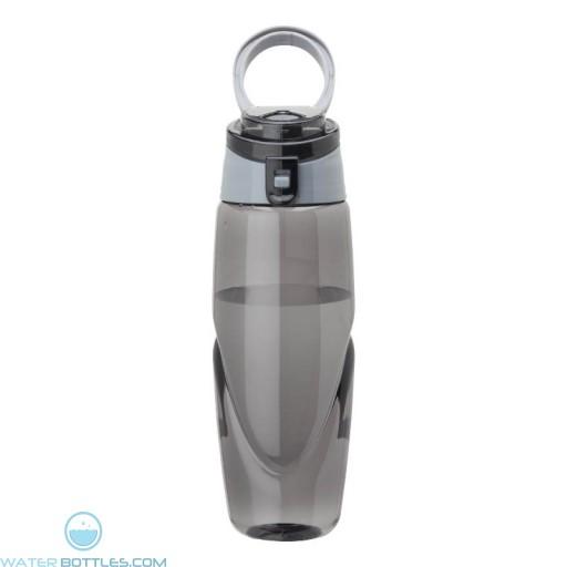 Tritan Water Bottles | 32 oz - Smoky Bottles with Grey Spout