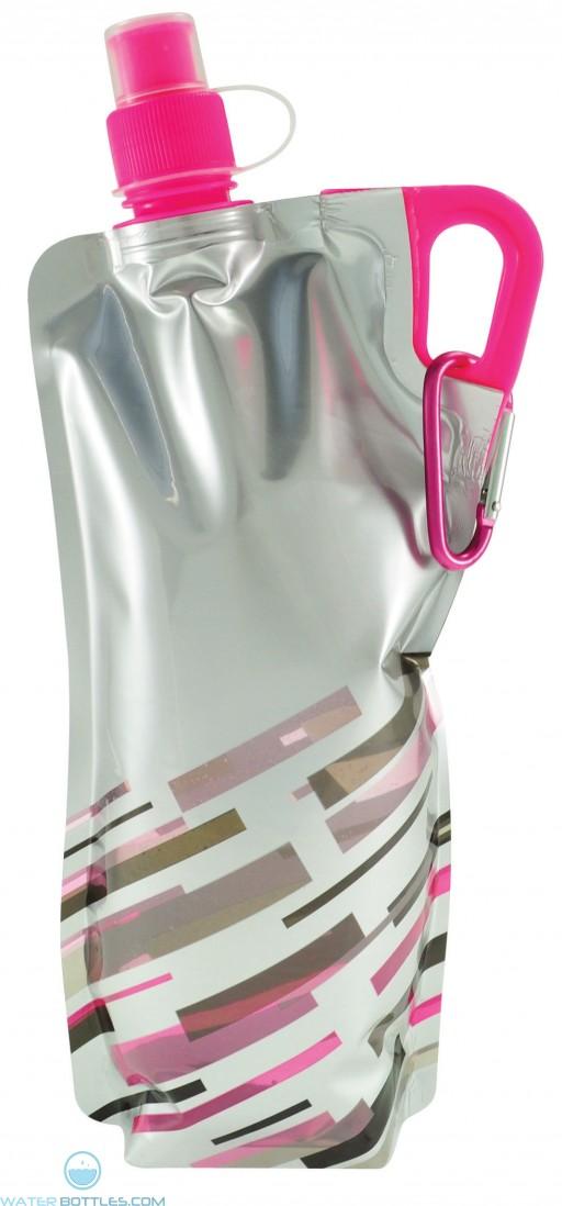 Lazer Flat Bottles | 30 oz - Neon Pink