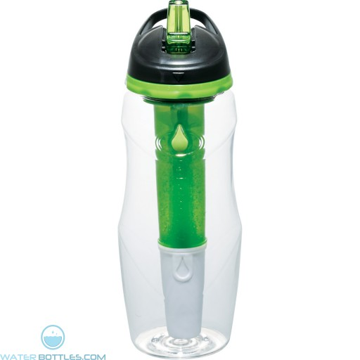 Cool Gear Water Filtration Sport Bottles | 26 oz - Green