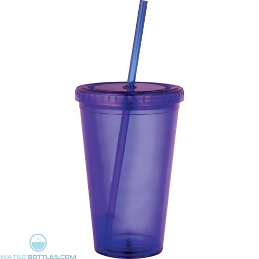 Sedici Tumblers   16 oz - Purple