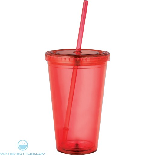Sedici Tumblers | 16 oz - Red