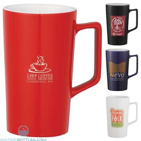 Custom Logo Mugs - Venti Ceramic Mug | 20 oz