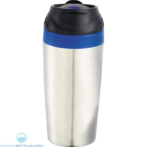 Stainless Steel Mirage Tumblers   16 oz - Blue