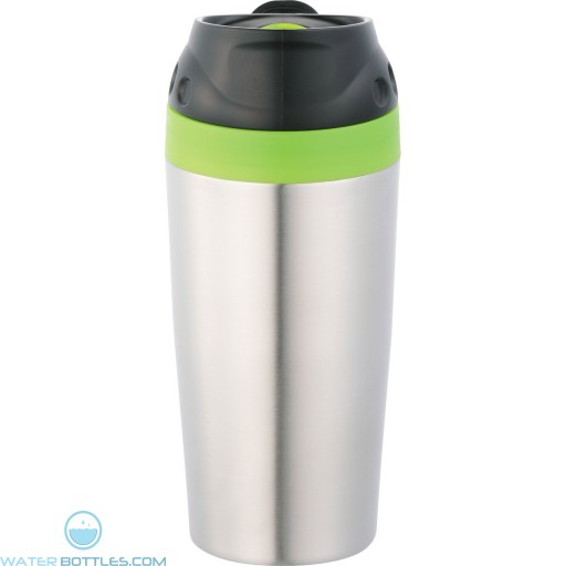 Stainless Steel Mirage Tumblers | 16 oz - Green