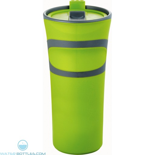 Groovy Double-Wall Tumblers | 18 oz - Lime Green