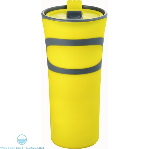 Groovy Double-Wall Tumblers | 18 oz - Yellow