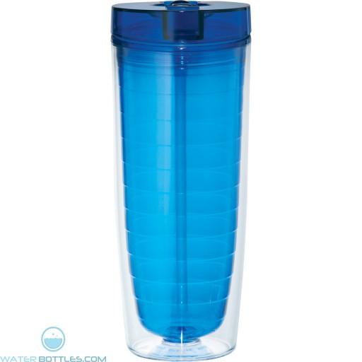 Hot and Cold Flip n Sip Vortex Tumblers | 20 oz - Blue
