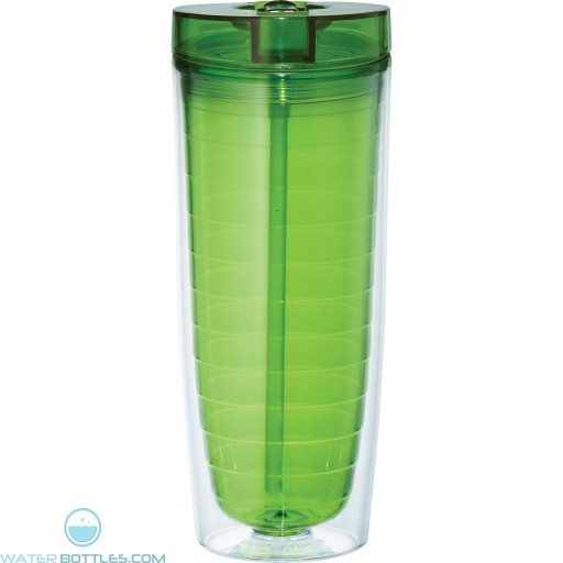 Hot and Cold Flip n Sip Vortex Tumblers | 20 oz - Green
