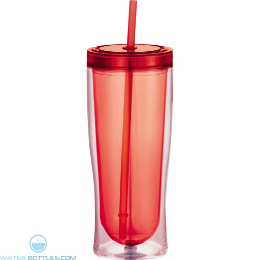 Sipper Tumblers | 16 oz - Red