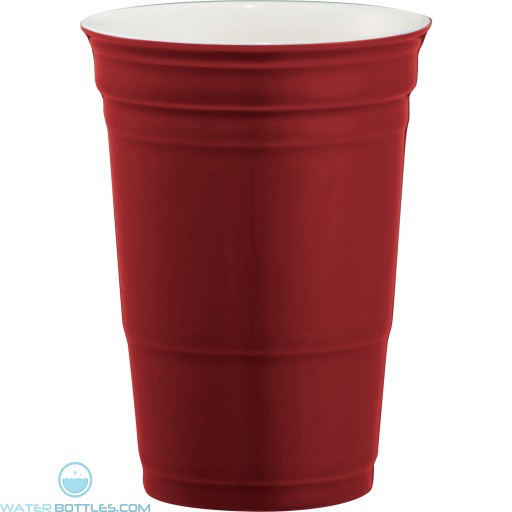 Game Day Ceramic Cup | 12 oz - Red