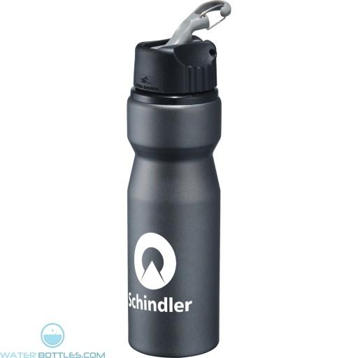 Wholesale Water Bottles - High Sierra Aluminum Bottle   24 oz