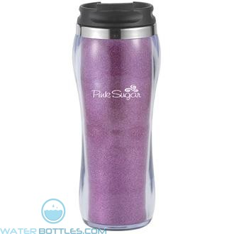 Hollywood With Ice Fabric | 16 oz - Pink