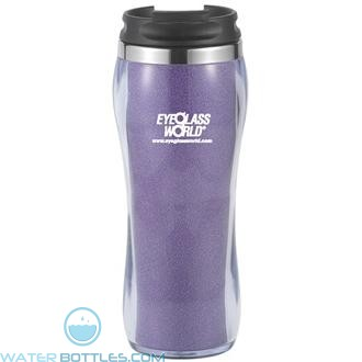 Hollywood With Ice Fabric | 16 oz - Purple