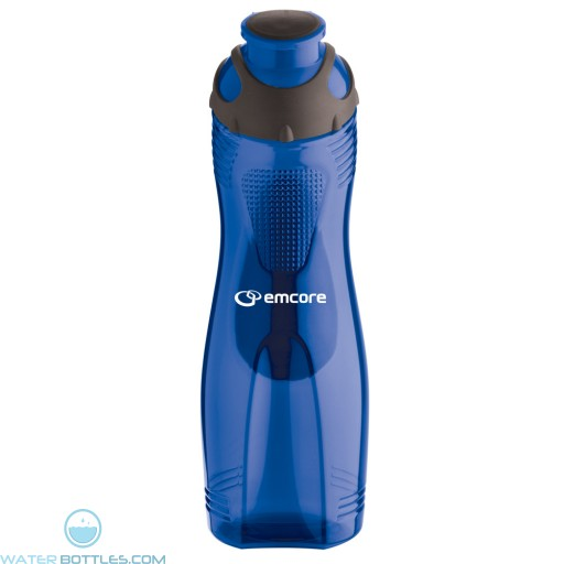 28 oz Long-n-Lean Easy-Grip Bottles| Blue