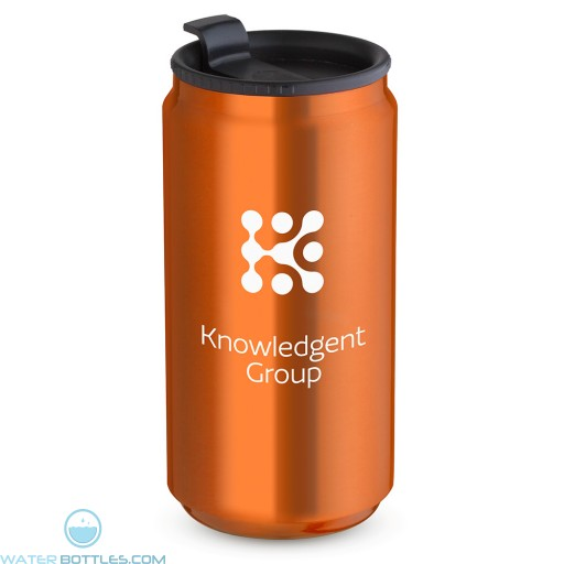 12 oz. Soda Can Travel Tumblers| Orange