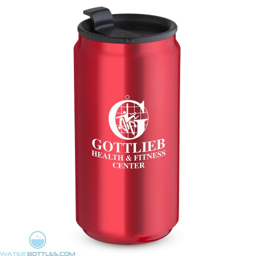 12 oz. Soda Can Travel Tumblers| Red