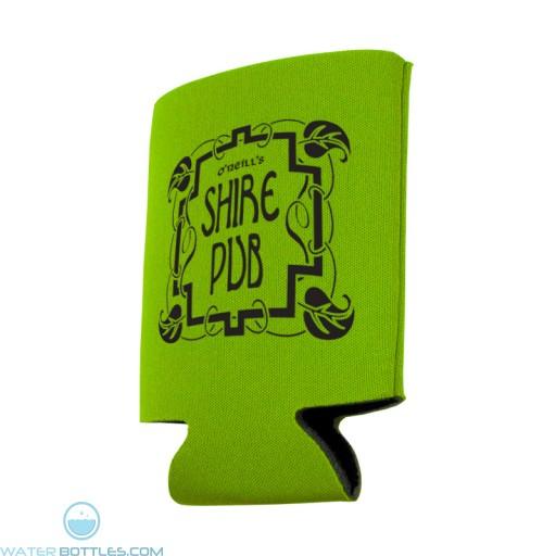 Budget Pocket Can Holder-Lime-Green