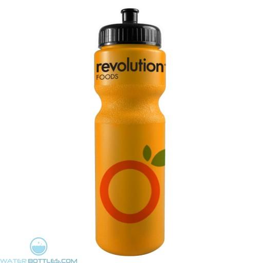 The Journey Bottles - 28 oz. Bike Bottles Colors-Neon-Orange