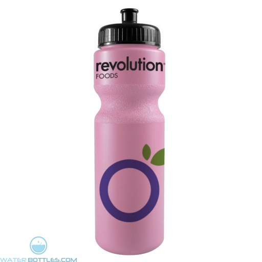 The Journey Bottles - 28 oz. Bike Bottles Colors-Awareness-Pink