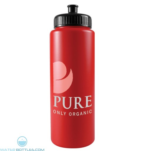The Sports Quart - 32 oz Sports Bottles Colors-Red