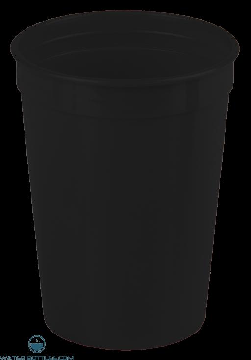 Cups-On-The-Go - 12 oz. Stadium Cup-Black