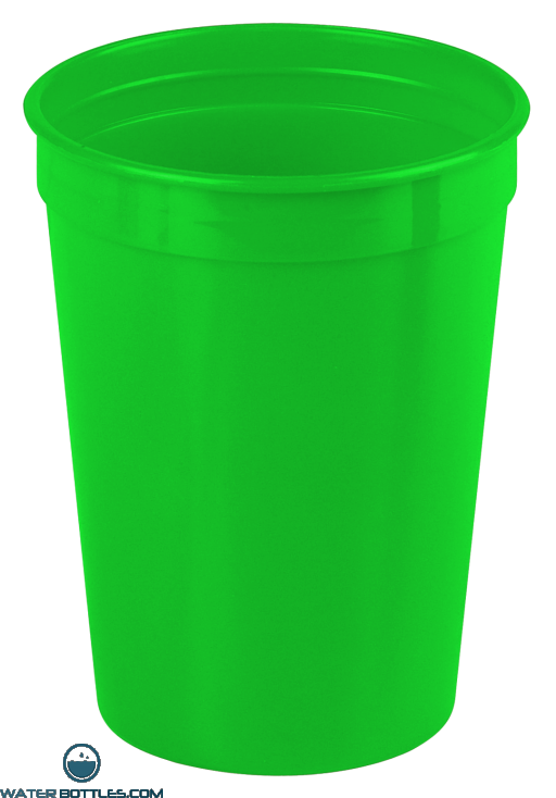 Cups-On-The-Go - 12 oz. Stadium Cup-Green