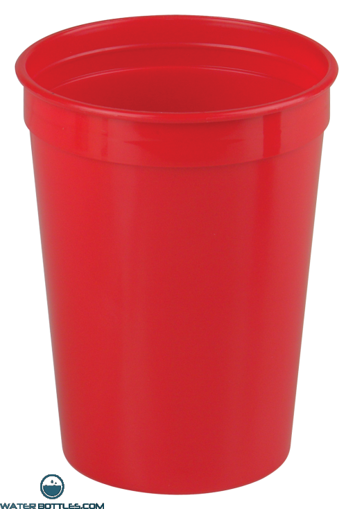 Cups-On-The-Go - 12 oz. Stadium Cup-Red