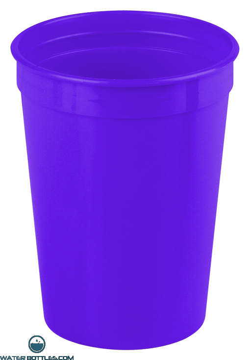 Cups-On-The-Go - 12 oz. Stadium Cup-Violet