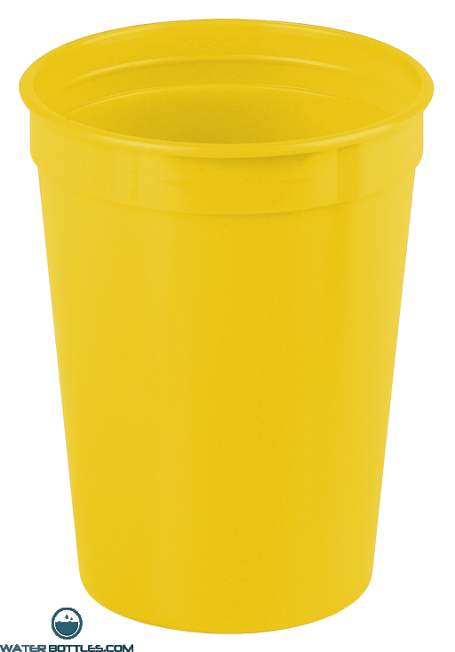 Cups-On-The-Go - 12 oz. Stadium Cup-Yellow