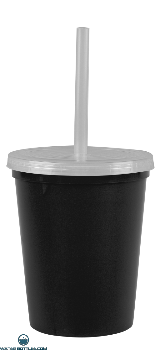 Cups-On-The-Go -16 oz. Recycled Stadium Cup-Black