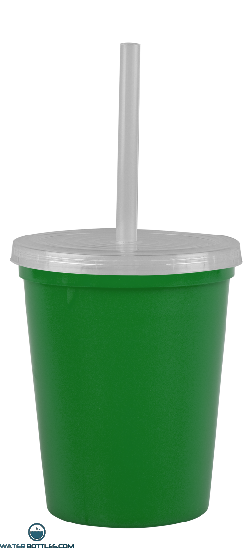 Cups-On-The-Go -16 oz. Stadium Cup-Green