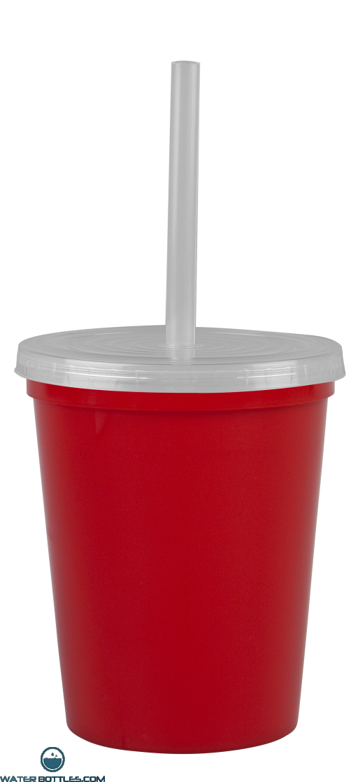 Cups-On-The-Go -16 oz. Stadium Cup-Red