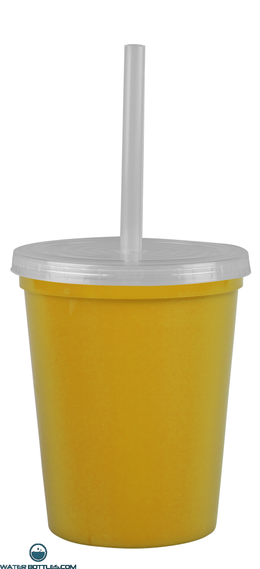 Cups-On-The-Go -16 oz. Stadium Cup-Yellow