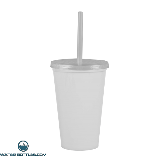 Cups-On-The-Go -20 oz. Stadium Cup-White