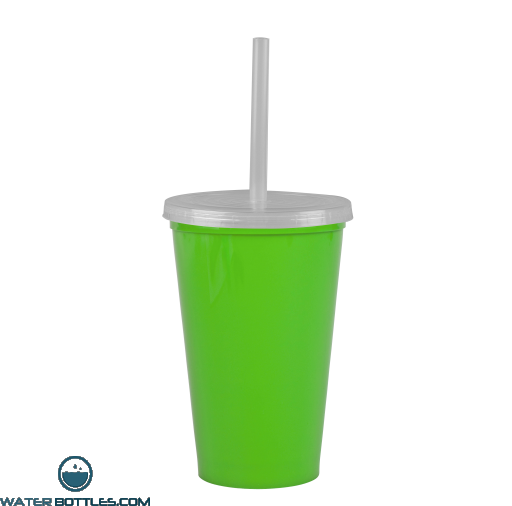 Cups-On-The-Go -20 oz. Stadium Cup-Lime-Green