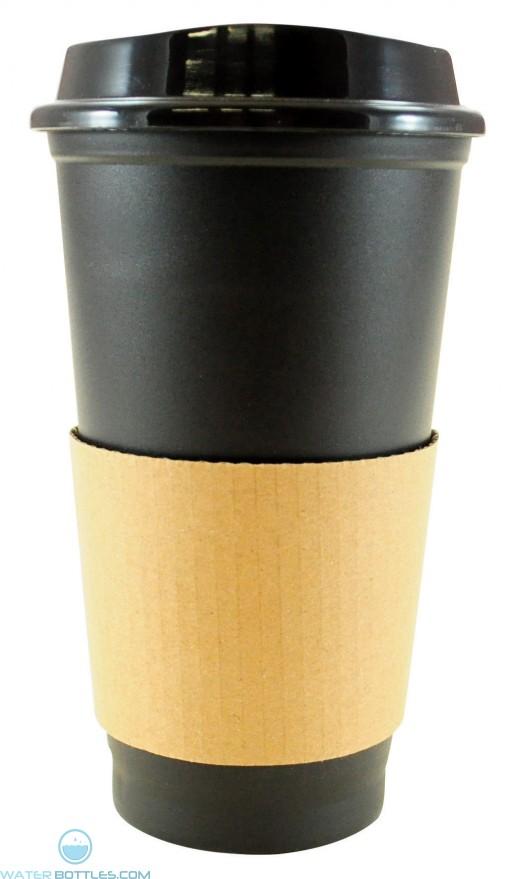Sip N Style Stackable Tumblers | 16 oz - Black