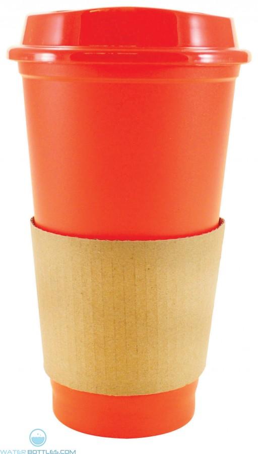 Sip N Style Stackable Tumblers   16 oz - Orange