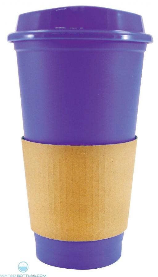Sip N Style Stackable Tumblers | 16 oz - Purple