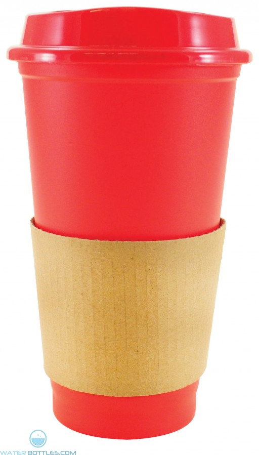 Sip N Style Stackable Tumblers | 16 oz - Red