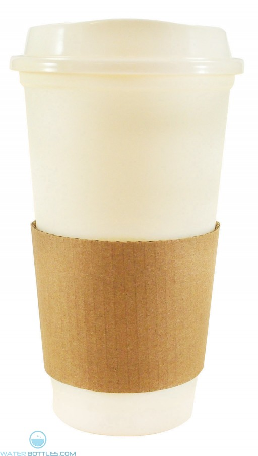 Sip N Style Stackable Tumblers | 16 oz - White