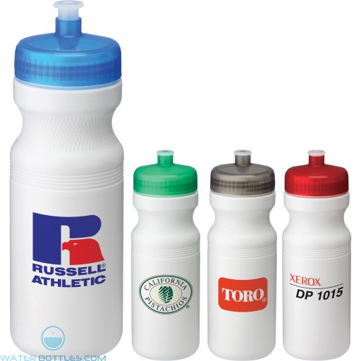 Personalized Sports Water Bottles - Easy Squeezy Sports Bottles | 24 oz