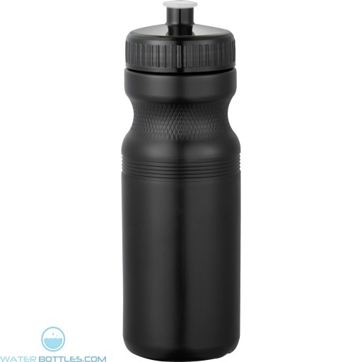 Easy Squeezy Sports Bottles - Spirit | 24 oz - Black