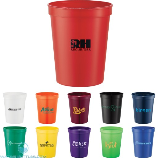 Promotional Cups - Rally Stadium Cup   16 oz