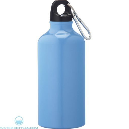Li'l Shorty Aluminum Sports Bottles | 17 oz - Light Blue