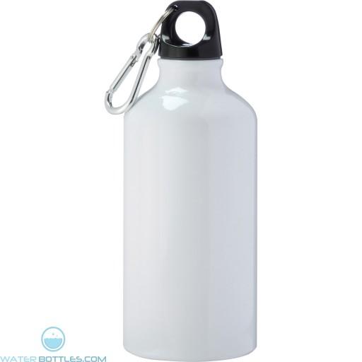 Li'l Shorty Aluminum Sports Bottles | 17 oz - White
