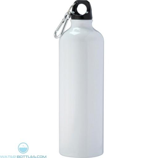 Pacific Aluminum Sports Bottles | 26 oz - White