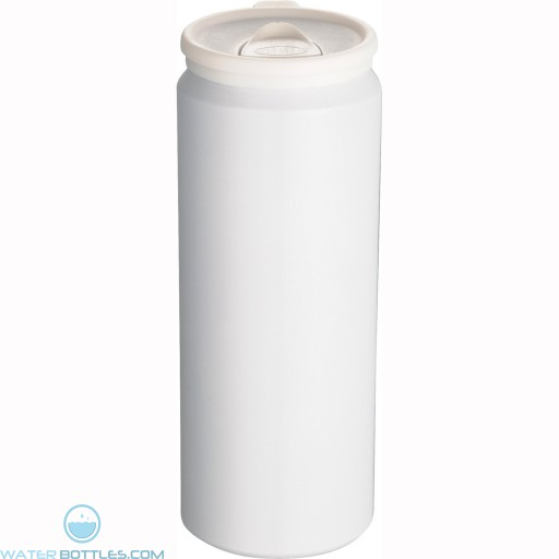Pop Aluminum Can | 17 oz - White