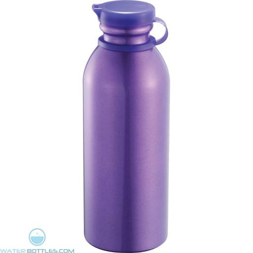 Milk Maid Aluminum Sports Bottles   24 oz - Purple