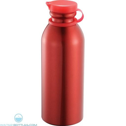 Milk Maid Aluminum Sports Bottles | 24 oz - Red