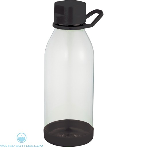 Piper Tritan Sports Bottles   24 oz - Clear with Black Lid